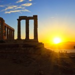 Cape Sounio Sunset
