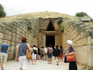 The tomb of Agamemnon - Mycenae