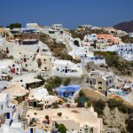 Panoramic view of oia